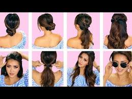 quick and easy hairstyles for running top 5 lazy everyday hairstyles with puff quick easy braids