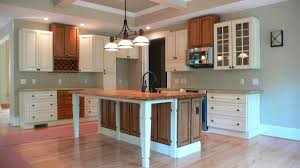 Two Tone Kitchen Cabinet Doors Mission Style Kitchen Cabinets Mission Style Kitchen Cabinets