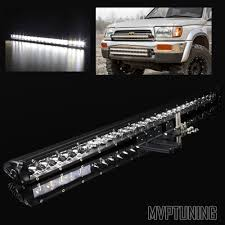 30 150w Offroad Cree Led Slim Light Bar Work L Sandrail