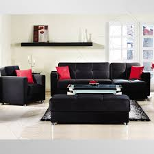 Red And Black Sofa by Red Black And White Living Room Set Centerfieldbar Com