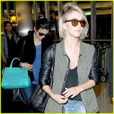 julianne hough hairstyles riwana capri nina dobrev julianne hough fly home after girls weekend