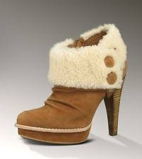s ugg ankle boots ugg australia s stiletto boots ebay