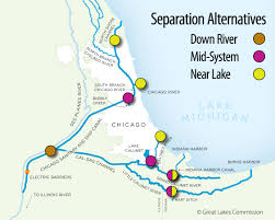 Map Of The Mississippi River Report Time To Sever Ties Between The Great Lakes And The