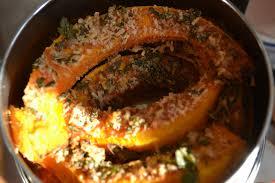 plan pour cuisine uip boeddhamum glutenfree roasted pumpkin slices geroosterde
