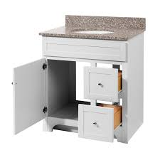 30 Bathroom Vanity by Foremost Wrwat3021d 8 Worthington 30 Bathroom Vanity In White With