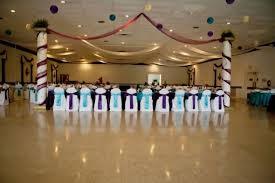 teal wedding decorations stanny s italian themed plum and teal wedding decor wedding