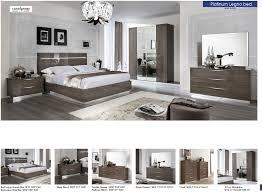 5 Door Wardrobe Bedroom Furniture Platinum Legno Bed Modern Bedrooms Bedroom Furniture