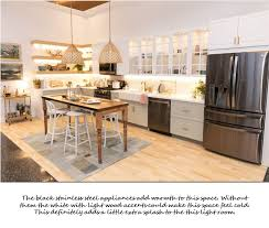 white kitchen cabinets and black stainless steel appliances tuesday trends black stainless steel appliances che