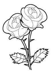 rose coloring pages excellent brmcdigitaldownloads com