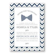 rehearsal dinner invite bow tie rehearsal dinner invitation navy and gray birthday boy