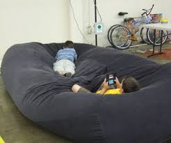 giant bean bag chairs huge bean bag couch amp floor pillows