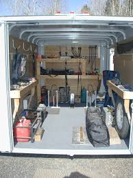 V Nose Enclosed Trailer Cabinets by Enclosed Trailer Cabinet Ideas Google Search Aaron Pinterest