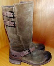 womens ugg everglayde boots ugg australia suede motorcycle boots for ebay