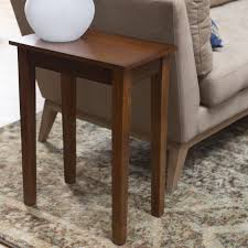 oak sofa tables turner chair side table oak hayneedle