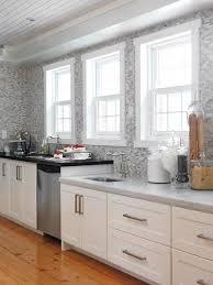 backsplash for white kitchen cabinets clear glass hanging ls grey tile backsplash wood and white