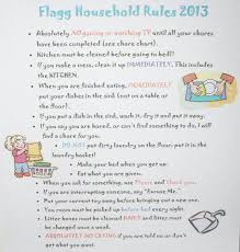 Family House Rules Karmic Education Family Household Rules