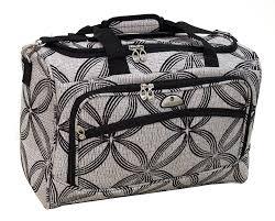 amazon com american flyer luggage silver clover 5 piece set