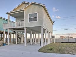 Beach House Plans On Piers New 3br Rockport Stilt House Near Beach Homeaway Rockport