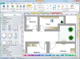 House Layout Program 2d Drafting Software Edraw
