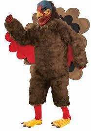 plush turkey mascot costume deluxe fancy dress escapade uk