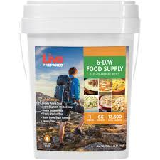 Fire Evacuation Plan Nursery by Live Prepared 6 Day Emergency Food Supply Pail Walmart Com