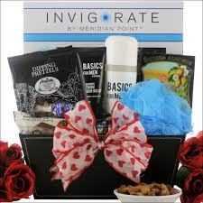 gift baskets for men especially for men s day spa gift basket