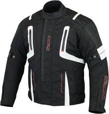 white motorbike jacket mbs mj 20 fast textile waterproof motorcycle motorbike scooter
