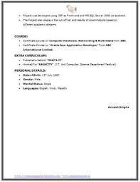 Latest Resume Format For Freshers Engineers Best Resume Format For Freshers Engineers Niveresume Pinterest