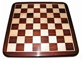 krb001 rosewood boxwood chess board rounded corners