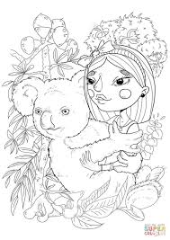 koala coloring free printable coloring pages