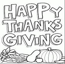 surprising coloring page happy thanksgiving clip with