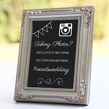 wedding instagram personalised instagram wedding sign by nutmeg home gifts