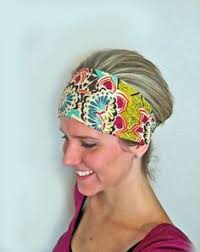 cloth headbands how to make a wide headband out of fabric brown ethnic wide