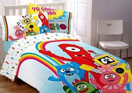 Yo Gabba Gabba Bed Set Yo Gabba Gabba Bedding Set Brobee Comforter Sheets Bed