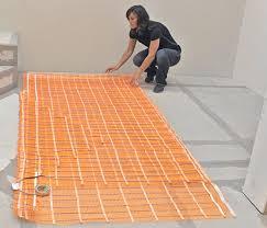 in floor heating underfloor heating systems
