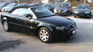 audi a4 coupe convertible 2004 audi a4 cabriolet 1 8 t review start up engine and in depth