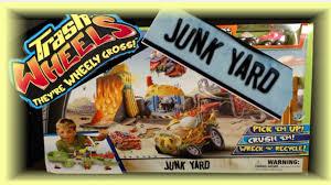 trash wheels junk yard playset moose toys