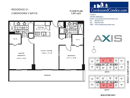 Skyline Brickell Floor Plans Axis Brickell Village Condo Sales Miami Brickell Village