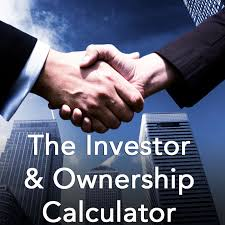 complete the table calculator investor ownership calculator a capitalization table calculator