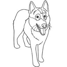 25 free printable dog coloring pages