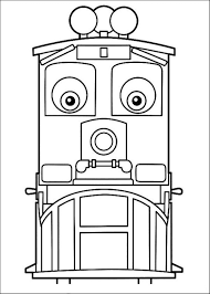 download children free chuggington coloring pages print