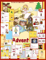 advent 2014 for the family homeschooled kids online
