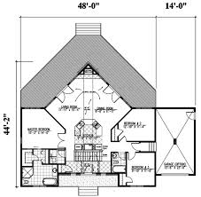 contemporary style house plan 3 beds 2 00 baths 1501 sq ft plan