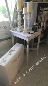 Distressed White Table 278 Best 1 Annie Sloan Painted Repurposed Upcycled Furniture By