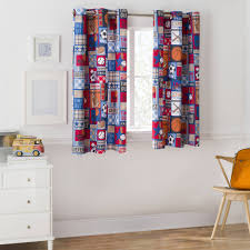 Noise Reduction Curtains Walmart by Mainstays Grommet Room Darkening Sports Patch Boy U0027s Bedroom