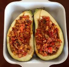 recipe of the week stuffed eggplant triathlete com