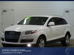 Audi Q7 2008 - white audi q7 in michigan for sale used cars on buysellsearch