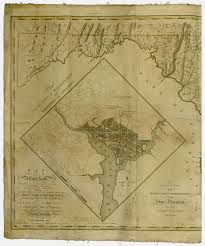 The Ghost Map 1795 Map Of The Territory Of Columbia Ghosts Of Dc