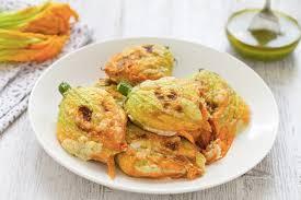 ricette con fiori di zucchina al forno ricetta fiori di zucca al forno cucchiaio d argento