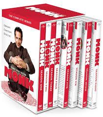 Monk The Complete Series Walmart Com